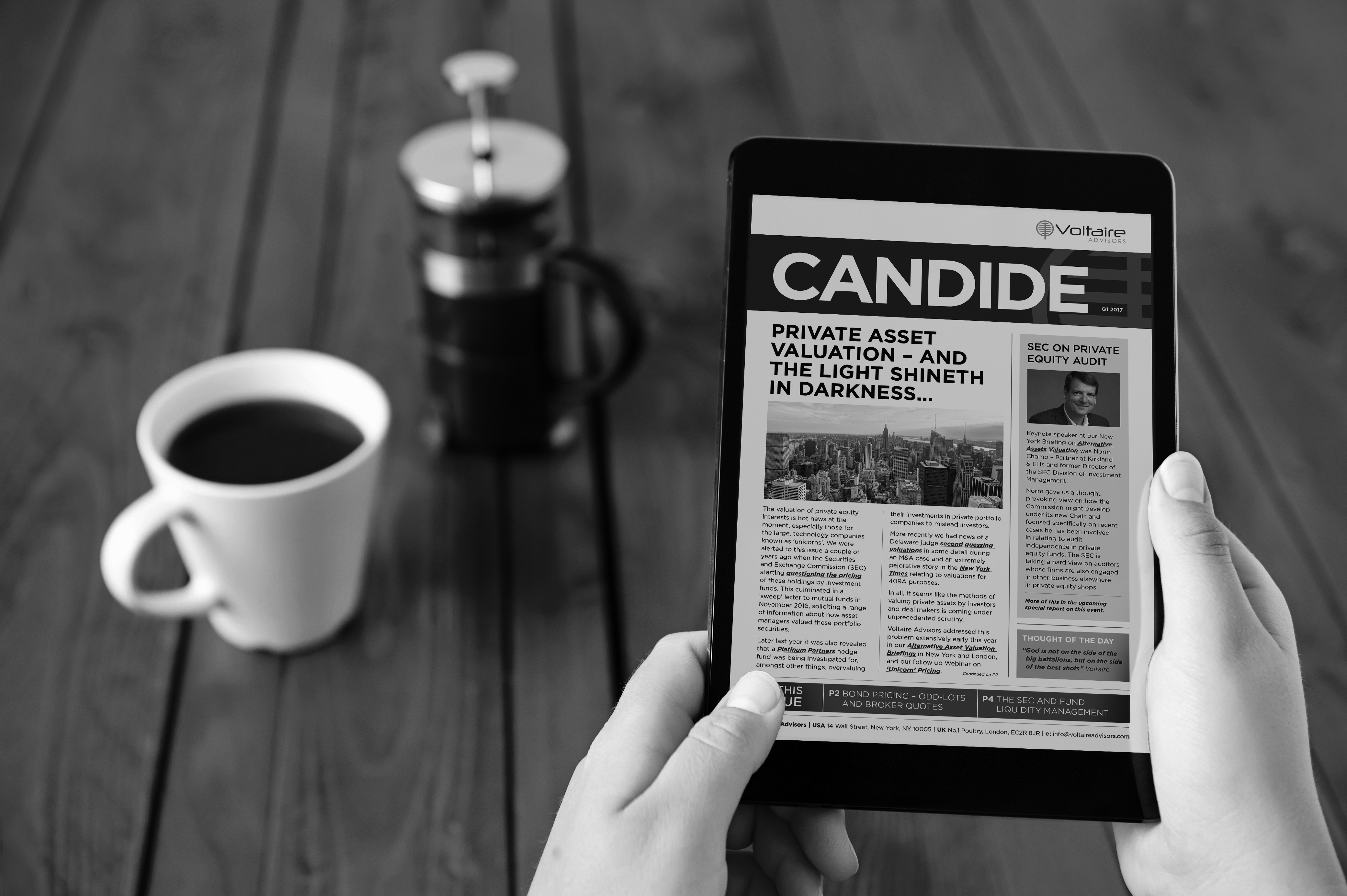 Candide Issue #1